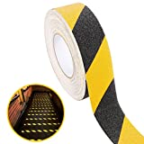 UEETEK 10M Anti-Slip Tape,Non Skid Safety Tape Dull Polish PVC Tape Hight Traction Anti Slip Safety Tape for Indoor/Outdoor Use