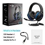 Jeecoo V22 Gaming Headset for Xbox One PS4