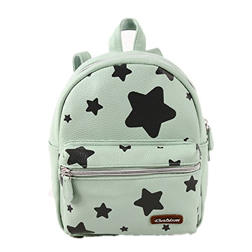 BABISM Children Backpack Preschool Backpacks Toddler Shoulder Bag (Green)