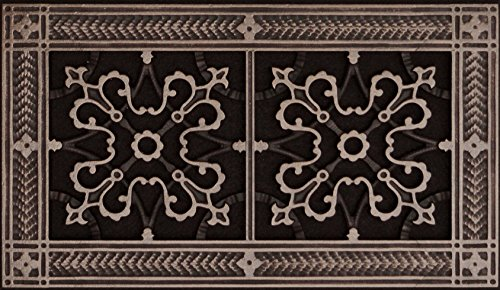- Decorative Grille, Vent Cover, or Return Register. Made of Urethane Resin to fit over a 6
