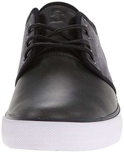 DC Studio TX Grey Vulcanized Men's SE Shoe Black r5qTHr1w8