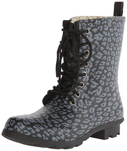CHOOKA Womens' Lace-Up Fashion Waterproof Boot - Leopard ...