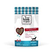 I and love and you Cow Boom! Beef Gullet Strips Grain Free Dog Chews, 2 oz