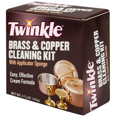 Copper Polish - Malco Products Inc. 525105 Twinkle Brass And Copper Cleaning Kit