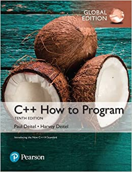 C++ How To Program (early Objects Version) Plus Myprogramminglab With Pearson Etext, Global Edition Descargar PDF Ahora