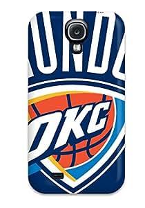 Excellent Design Oklahoma City Thunder Basketball Nba Case Cover For Galaxy S4