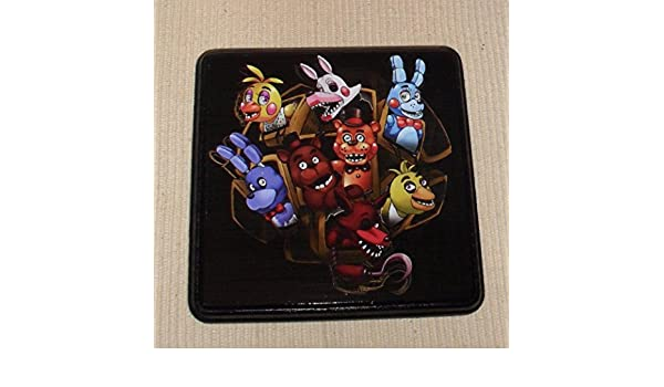 Amazon.com: FNAF Five Nights At Freddys WALL Plaque Decor ...