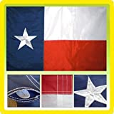 - 3x5 Embroidered Texas Pole Sleeve Nylon Flag 3'x5' Military Grade Nylon by I.E.Y.online-store