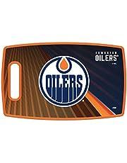 NHL Edmonton Oilers Large Cutting Board