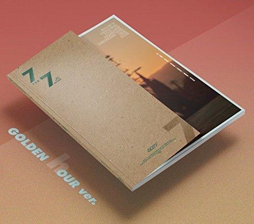 (GOT7 [7 for 7] B (Golden Hour) Version CD+Photobook+3p Photocards+Lyrics Book K-POP Sealed)