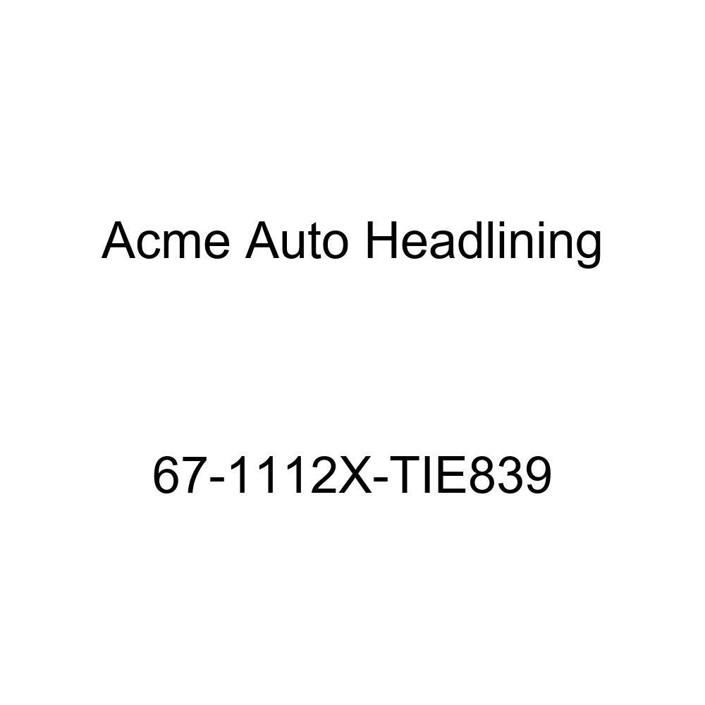 Acme Auto Headlining 65-1112X-TIE839 Metallic Blue Replacement Headliner Conversion Buick Electra 2 Dr Hardtop w//Original Board Headliner