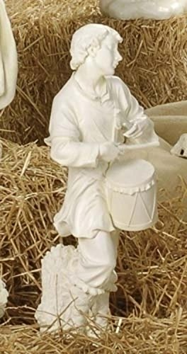 27'' Joseph's Studio Drummer Boy Outdoor Christmas Nativity Statue by Roman