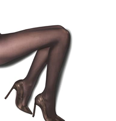 9f6e557a4 MISTRAL 30 Denier Sheer to Waist Tights One Size Chocolate Brown Amber  Rose  Amazon.co.uk  Clothing