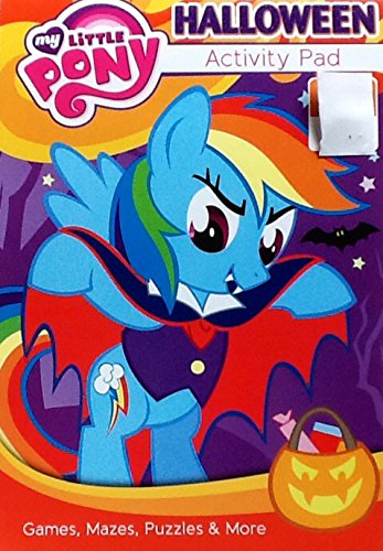My Little Pony As Dracula ~ Halloween Coloring & Activity Flip Top Pad: 7