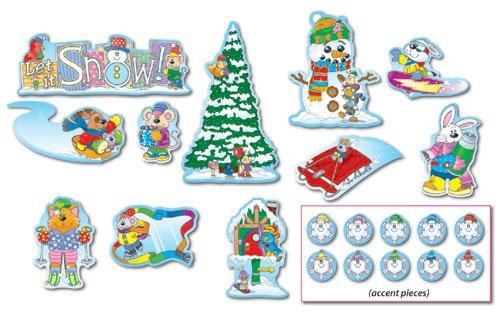 Winter Mini Bulletin Board Sets / BBS - Multi-Colored; no. CD-110061 -