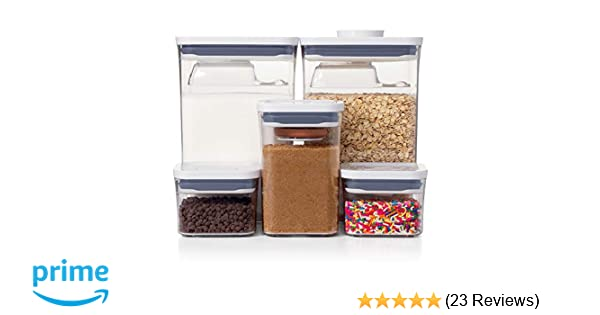 NEW OXO Good Grips 8-Piece POP Container Baking Set