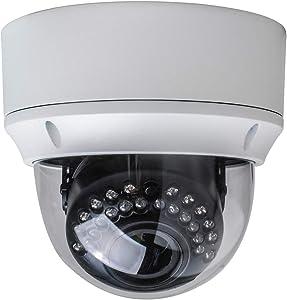 Gawker G1083PDIR Dome CCTV Security Camera, 1080P HD-TVI/AHD/CVI and CVBS(Default) Video Out switchable, True Day&Night, IP66 Vandal Proof, 2.8-12mm Lens, IR Smart, DC12V/AC24V.