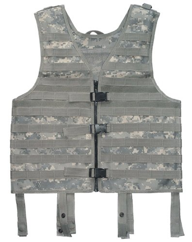 New Hunting / Paintball / Airsoft / Hiking ACU Digital Molle Web Tactical Vest
