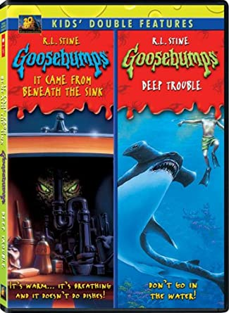 Amazon Com Goosebumps It Came Deep From Beneath The Sink