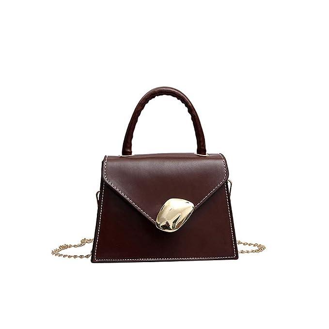99971fdca285f B-commerce Damen One Off Schulter Taschen Frauen Einfache Retro Handtasche  Vielseitige Umhängetasche Retro Messenger