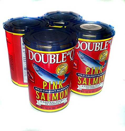Double Q Pink Salmon 4 x 14oz - Ounce 14 Cans
