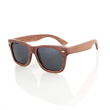 9547ad8a0c74 Walnut Wood Wooden Sunglasses by Shaderz - Vintage Retro Classic 100%  Natural Eco Friendly Handcrafted
