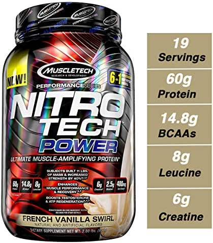 Protein & Meal Replacement: Nitro Tech Power