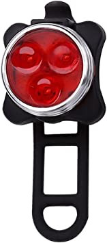 Nite Ize LED Bicycle Tail Light with Mounting Strap Red Light
