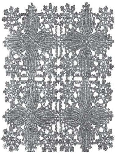 0494 Bedspread Vintage Crochet Pattern Single Patterns Kindle