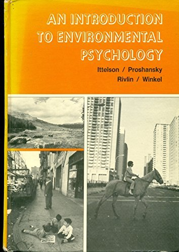 Introduction to Environment Psychology por William H. Ittelson,etc.