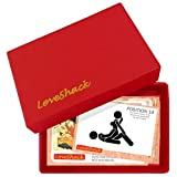 Love Shack Kamasutra Sex Positions Love Game Box Naughty Gift For Couples - Red