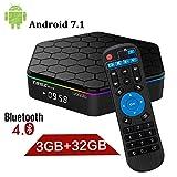 YAGALA T95Z plus 3Gb Ram/32Gb Rom Android 7.1 Amlogic S912 Smart Tv Box Octa Core 4K Resolution Dual Band Wi-Fi 2.4Ghz/5Ghz Bluetooth 4.0, 64 Bits