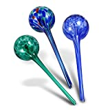Gardening Solutions Hydro Globes Automatic Watering Bulbs, 3 Piece Deluxe Set