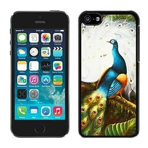 MMZ DIY PHONE CASEBINGO hot sale Peacock ipod touch 4 Case Balck Cover