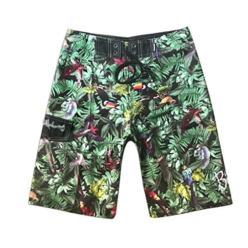 Boxers Indian (Men's Short Pants,LuluZanm Sales ! Summer Camouflage Printing Beach Surfing Shorts Swimming Loose Boxer Shorts)