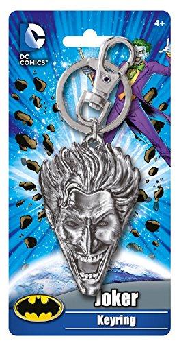 (DC The Joker Head Pewter Key)