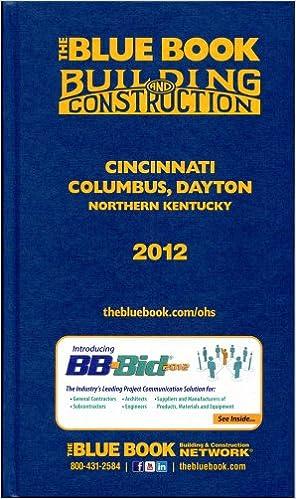 Construction Blue Book >> The Blue Book Building Construction Cincinnati Columbus
