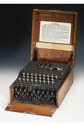 Wwii Machine - Enigma Machine WWII Encryption Device Custom Printed Photograph
