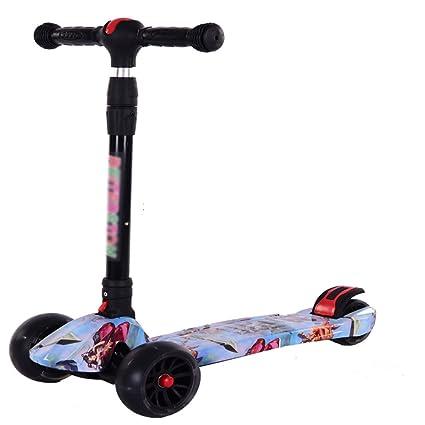 HBC Scooter, Patinete Plegable, Bicicleta para Principiantes ...