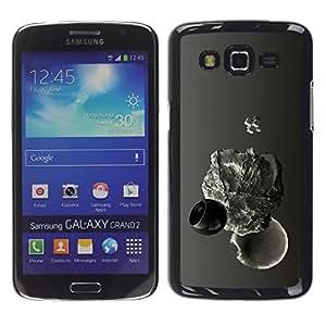 TECHCASE**Cubierta de la caja de protección la piel dura para el ** Samsung Galaxy Grand 2 SM-G7102 SM-G7105 ** Abstract Drop