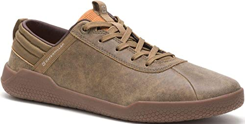 CAT CATERPILLAR Urge Leather Sneakers Casual Athletic Trainers Shoes Mens New