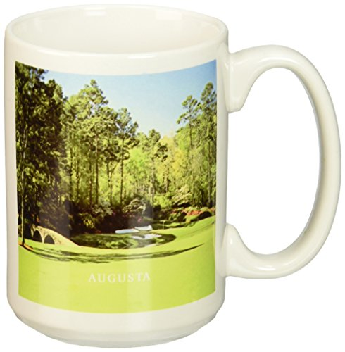 3dRose Golf Course in Augusta Georgia Ceramic Mug, - Light Fifteen Augusta