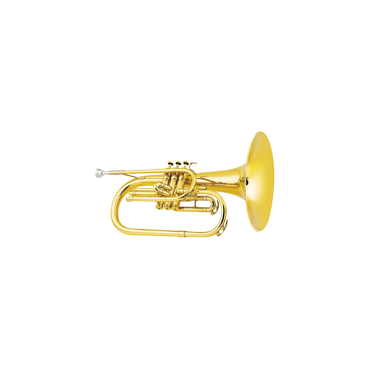King 1121 Marching F Mellophone in Lacquer