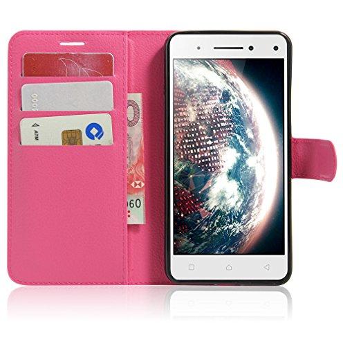 Funda Lenovo VIBE S1 Lite,Manyip Caja del teléfono del cuero,Protector de Pantalla de Slim Case Estilo Billetera con Ranuras para Tarjetas, Soporte Plegable, Cierre Magnético G