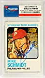 Mike Schmidt Philadelphia Phillies Autographed 2001 Topps #615 Card - Pack Pulled - Fanatics Authentic Certified