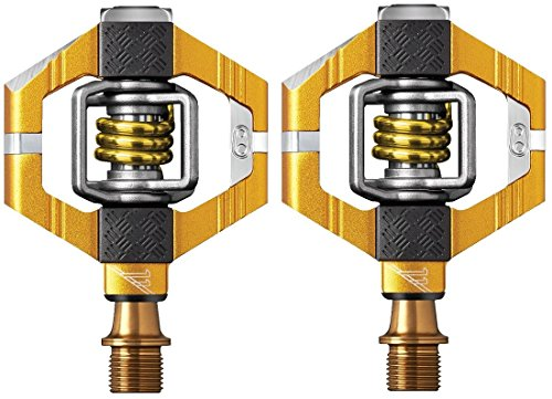 CRANKBROTHERs Crank Brothers Candy 11 Gold Pedals, Gold/Gold ()