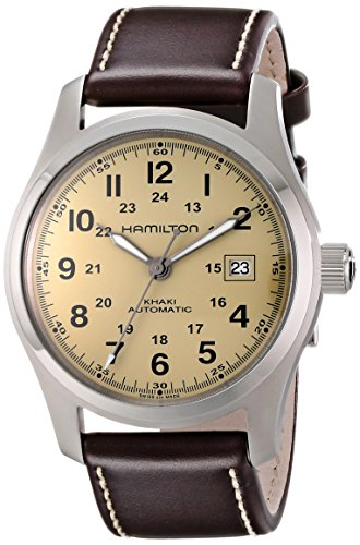 "Hamilton Men's汉密尔顿 ""Khaki Field"" Stainless Steel Watch"