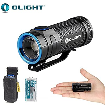 Olight S MINI Cree XM-L2 Titanium Flashlight