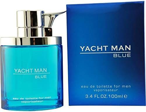 Yacht Man Blue By Puig Eau-de-toilette Spray, 3.4 Ounce