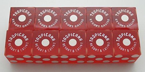 stick of used red dice (5) Las Vegas, Nevada (Casino Dice Red Stick)